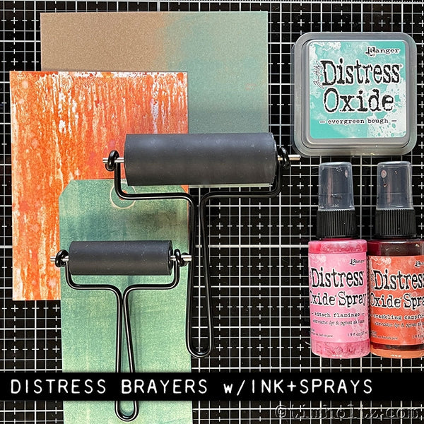 Tim Holtz Distress Brayer - Small 2.25 inch