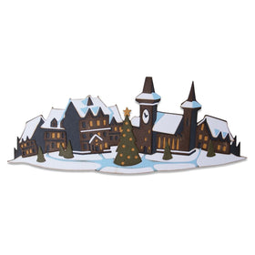 Sizzix Thinlits - Holiday Village Colorize by Tim Holtz