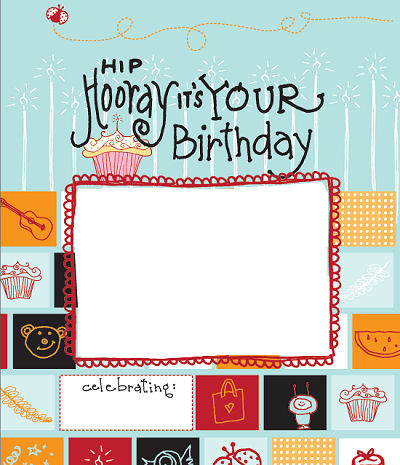 Hip Hip Hooray It's Your Birthday Story Book