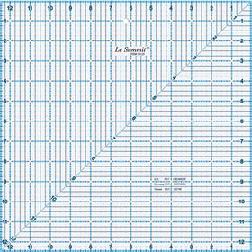 "Le Summit Quilting Ruler - 12.5"" x 12.5"""