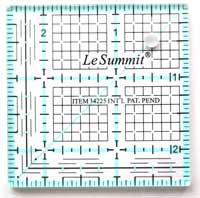 "Le Summit Quilting Ruler - 2.5"" x 2.5"""