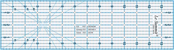 Le Summit Quilting Ruler - 4 x 14