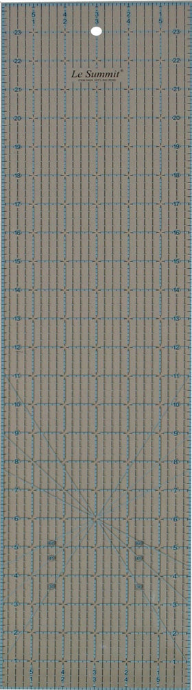 "Le Summit Quilting Ruler - 6"" x 24"