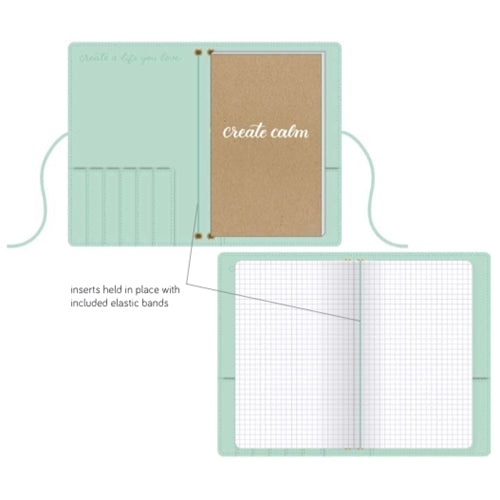 Kelly Creates - Dot Journal Insert