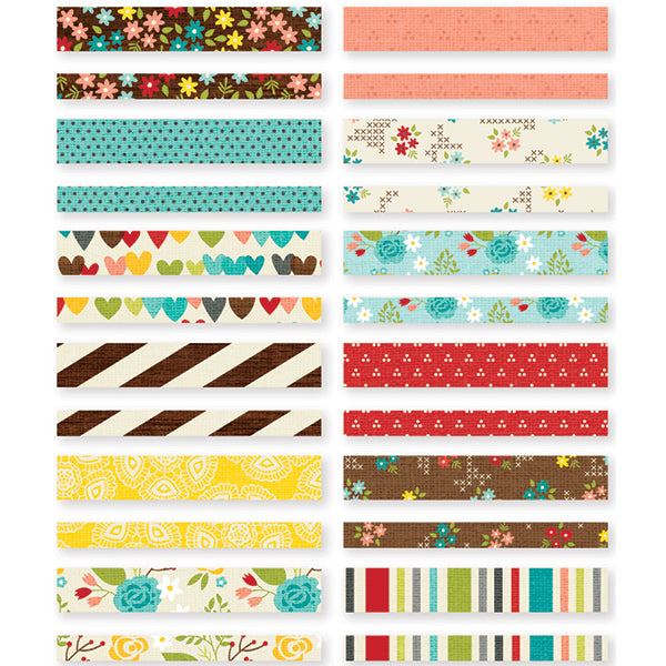 SN@P Studio - We are Family Washi Paper Tape Stickers