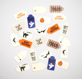 Shabby Chic Crafts Mini Halloween Tags (24pk)