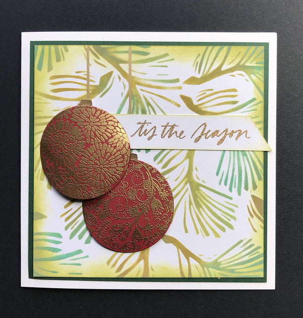 Funky Fossil - Elegant Ornaments A5 Stamp Set