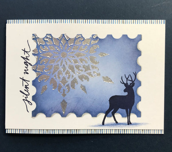 Funky Fossil - Winter Wonderland A6 Stamp Set