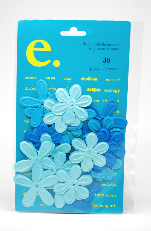 Prima e-line Celebrations Flowers - Blue