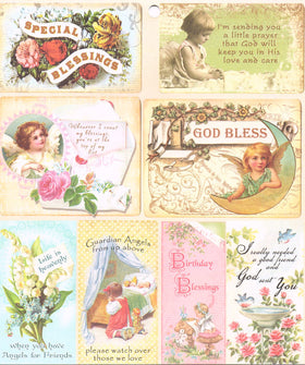 Heartwarming Vintage Cuts - Friends & Flowers