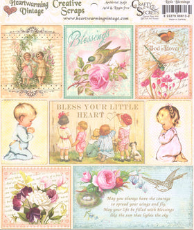 Heartwarming Vintage Creative Scraps - Little Blessings