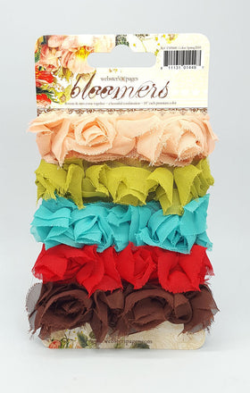 Webster's Pages Bloomers Ribbon - Spring
