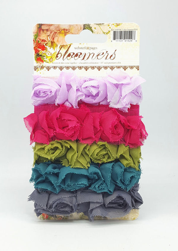 Webster's Pages Bloomers Ribbon - Summer
