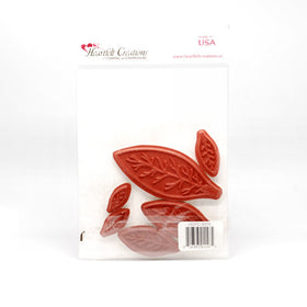 Poinsettia Petals Self Cling Stamp Set