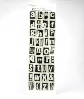 Alphabet Clear Stamp Set 4