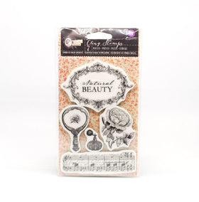 Prima Bella Rouge Cling Stamps