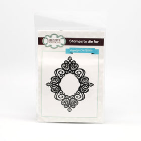 Creative Expressions Self Cling Rubber Stamp - Fine Finials
