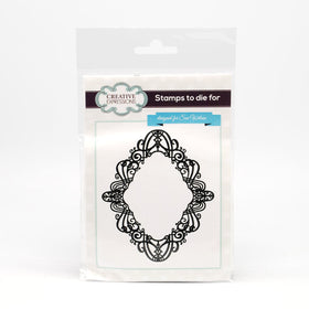 Creative Expressions Self Cling Rubber Stamp - Golden Gate