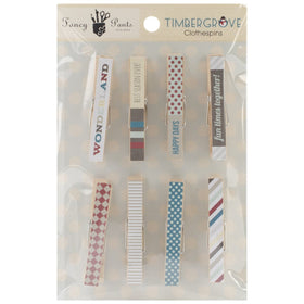 Fancy Pants Timbergrove - Clothes Pins (8 pk)