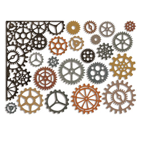 Sizzix Thinlits - Gearhead by Tim Holtz