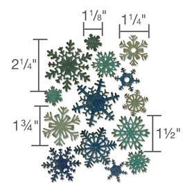 Sizzix Thinlits - Paper Snowflakes by Tim Holtz