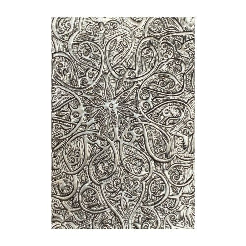Sizzix 3-D Texture Fades Embossing Folder - Engraved by Tim Holtz
