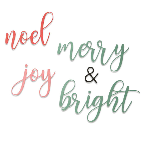 Sizzix Thinlits - Merry & Bright by Tim Holtz