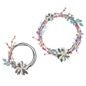 Sizzix Thinlits - Winter Garland by Pete Hughes