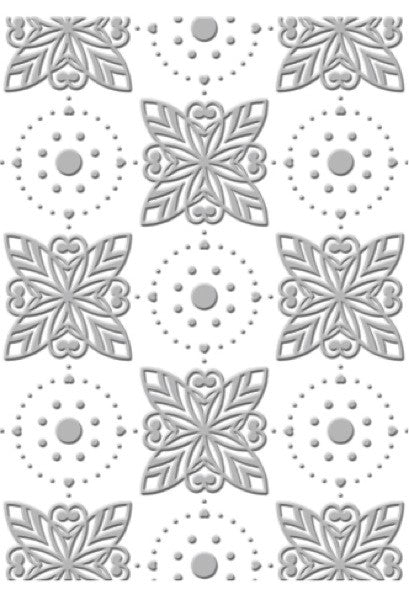 Couture Creations 5 x 7 Embossing Folder - Radiant