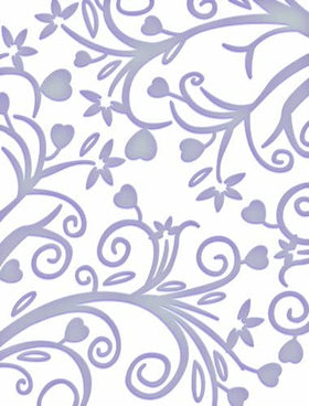 Couture Creations 5 x 7 Embossing Folder - Great Almanzo