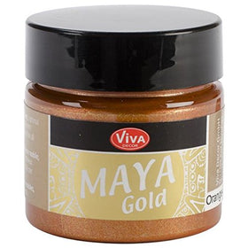 Viva Decor Maya Gold  - Orange Gold