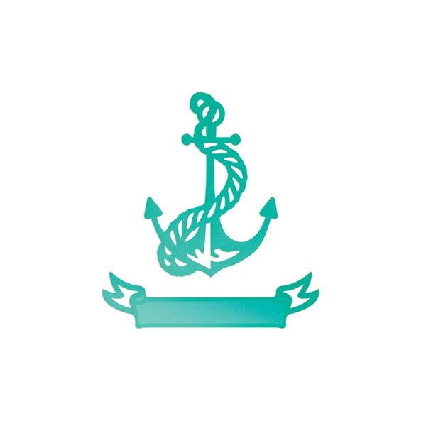 Couture Creations Sea Breeze - Tied Anchor & Banner