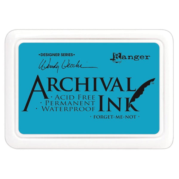 Ranger Wendy Vecchi Archival Ink Pad - Forget-Me-Not