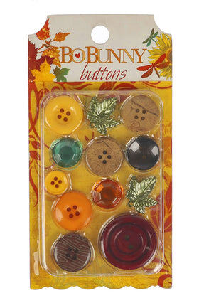 Bo Bunny Forever Fall Buttons