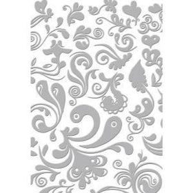 Couture Creations 5 x 7 Embossing Folder - Damask