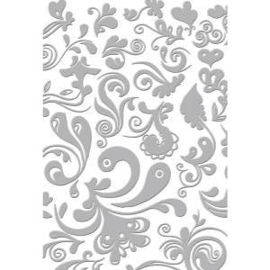 """DREAM   7/"""" x 5/"""" COUTURE CREATIONS EMBOSSING FOLDER"""