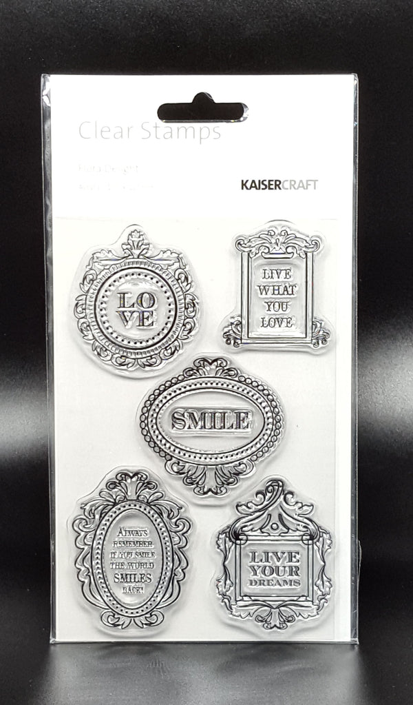 KAISERCRAFT - Flora Delight Stamp Set