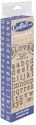 PEGZ American Typewriter Font - Large Lower Case Set
