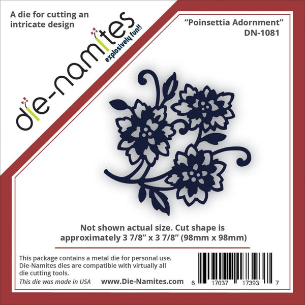 Die-Namites - Poinsettia Adornment
