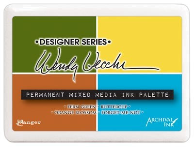 Wendy Vecchi Mixed Media Palette Ink Pad