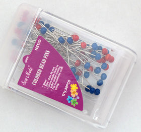 Colour Headed Pins