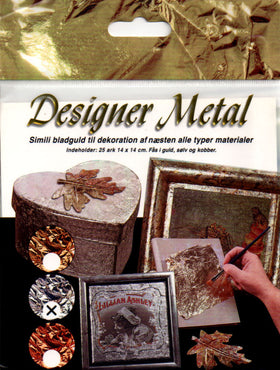 Art & Craft; Craft Metal - Imitation Gold Leaf