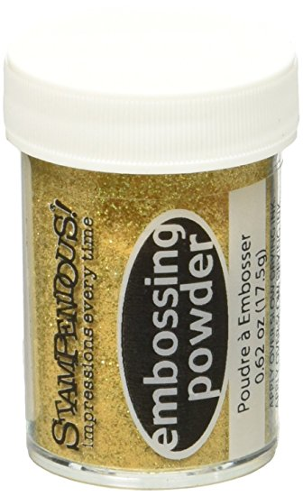 Stampendous Embossing Powder - Jewelled Gold