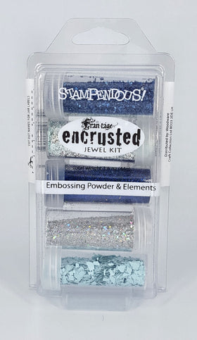 Stampendous Frantage Encrusted Jewel Kit - Blue
