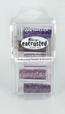 Stampendous Frantage Encrusted Jewel Kit - Purple