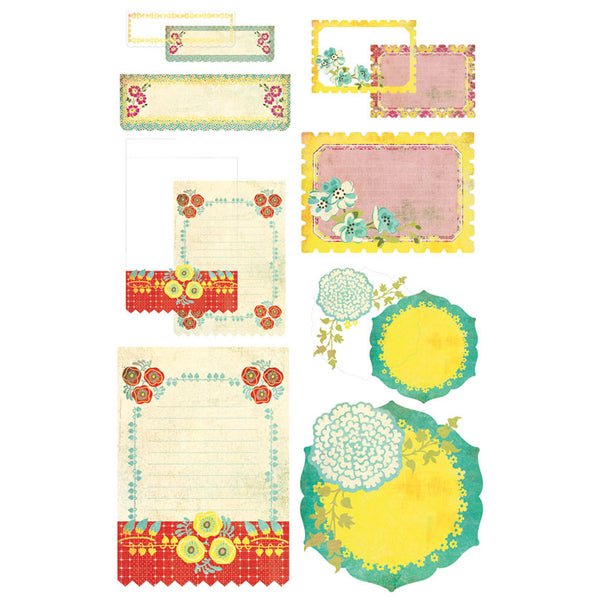 BasicGrey Hello Luscious - Take Note Journaling Cards with Transpariences