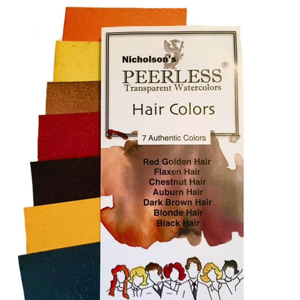 Peerless Watercolors - Hair Colors (7 colors)