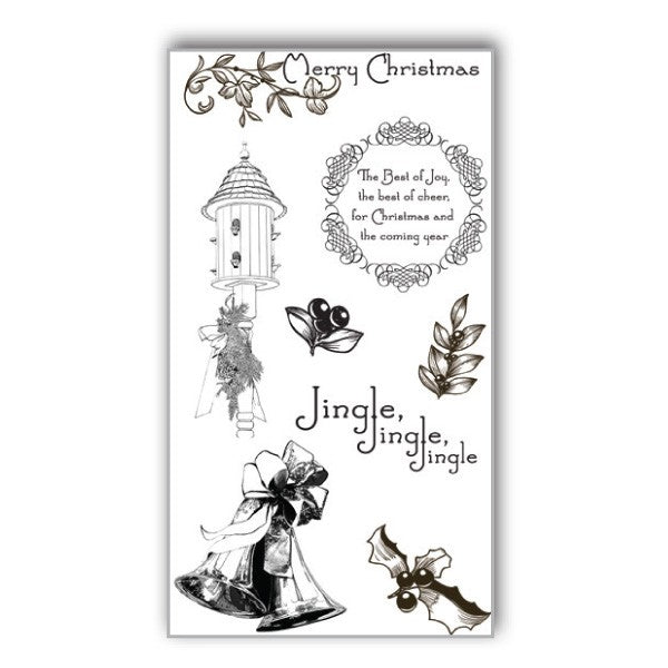 Ken Oliver Hometown Christmas Stamp Set #2