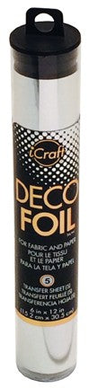 iCraft Deco Foil - Silver