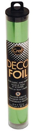 iCraft Deco Foil - Lime Satin
